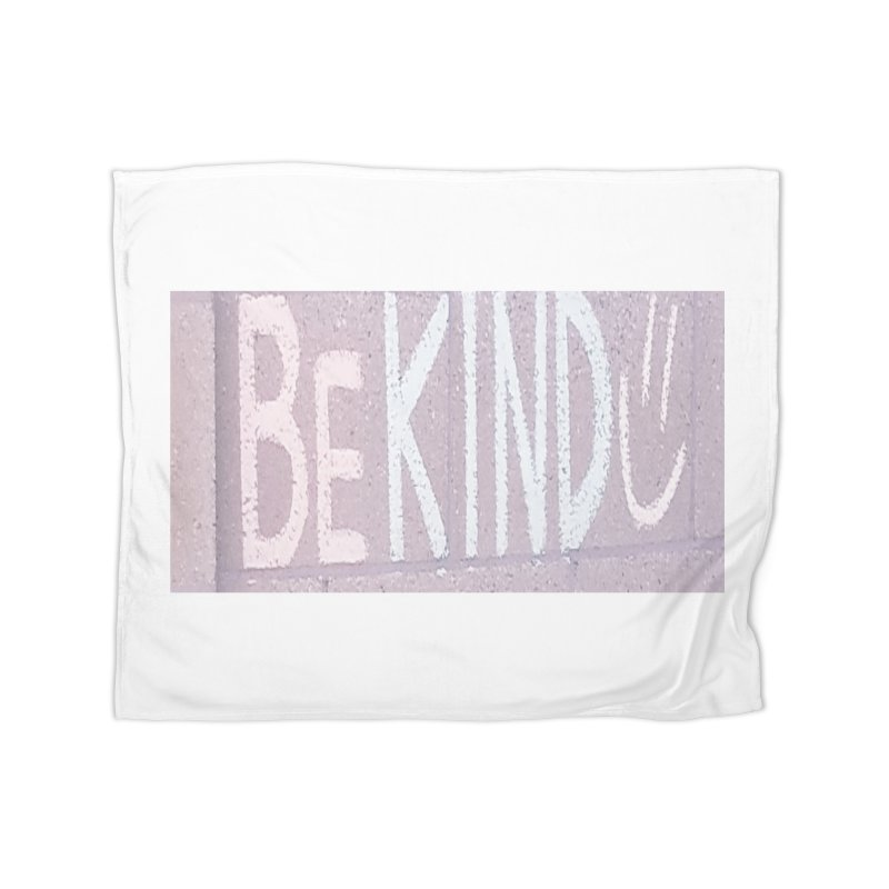Be Kind Home Fleece Blanket Blanket by Soapboxy Boutique