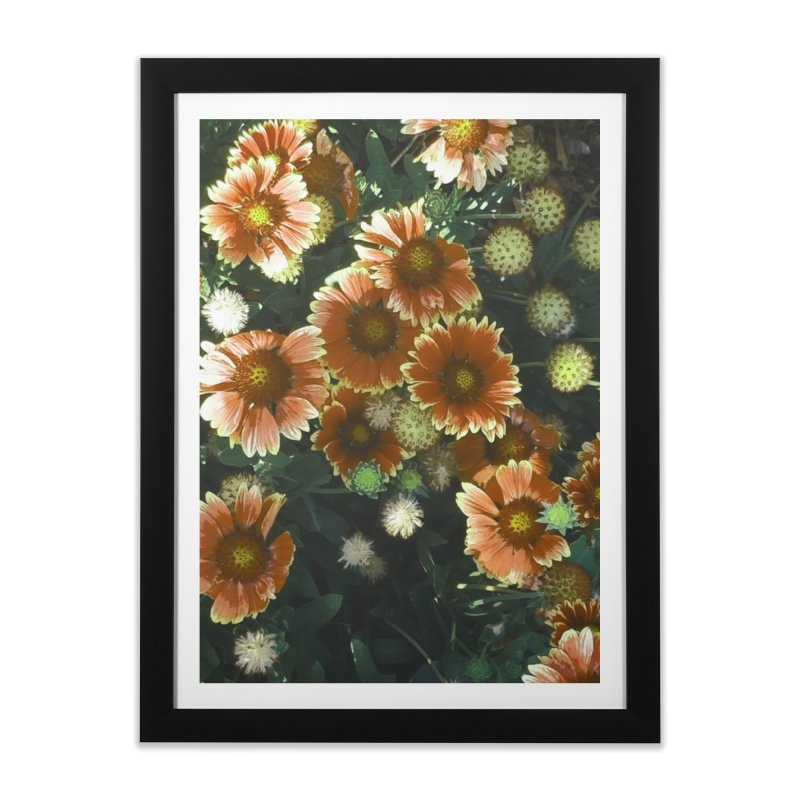 Peached Flowers Huntington Series Home Framed Fine Art Print by Soapboxy Boutique