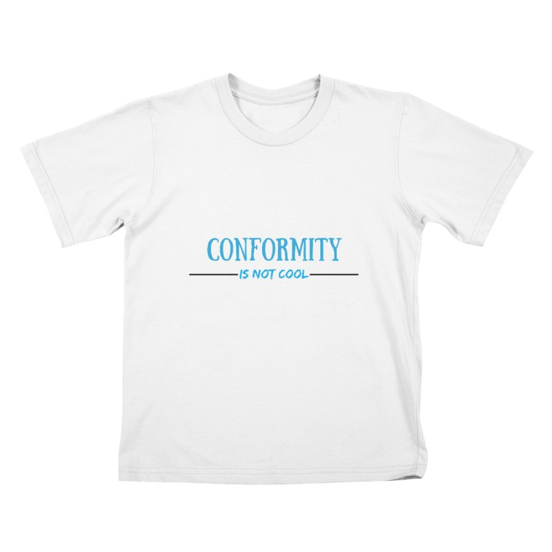 Conformity Kids T-Shirt by Soapboxy Boutique