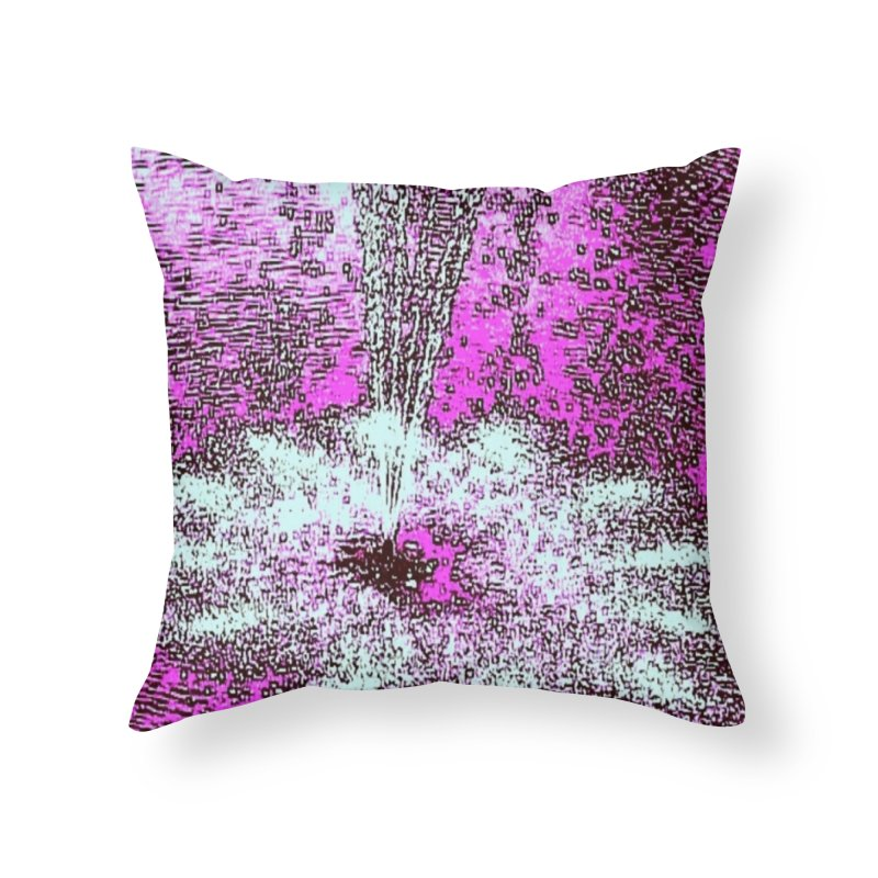 Fuschia Petal in Throw Pillow by Soapboxy Boutique