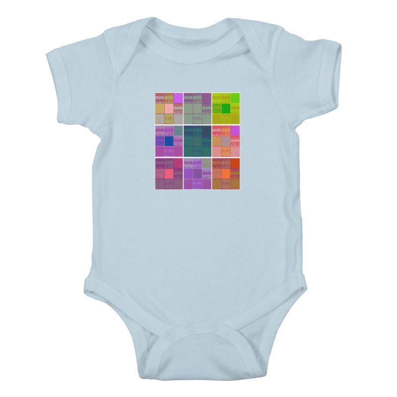 3 Cubed Kids Baby Bodysuit by Soapboxy Boutique