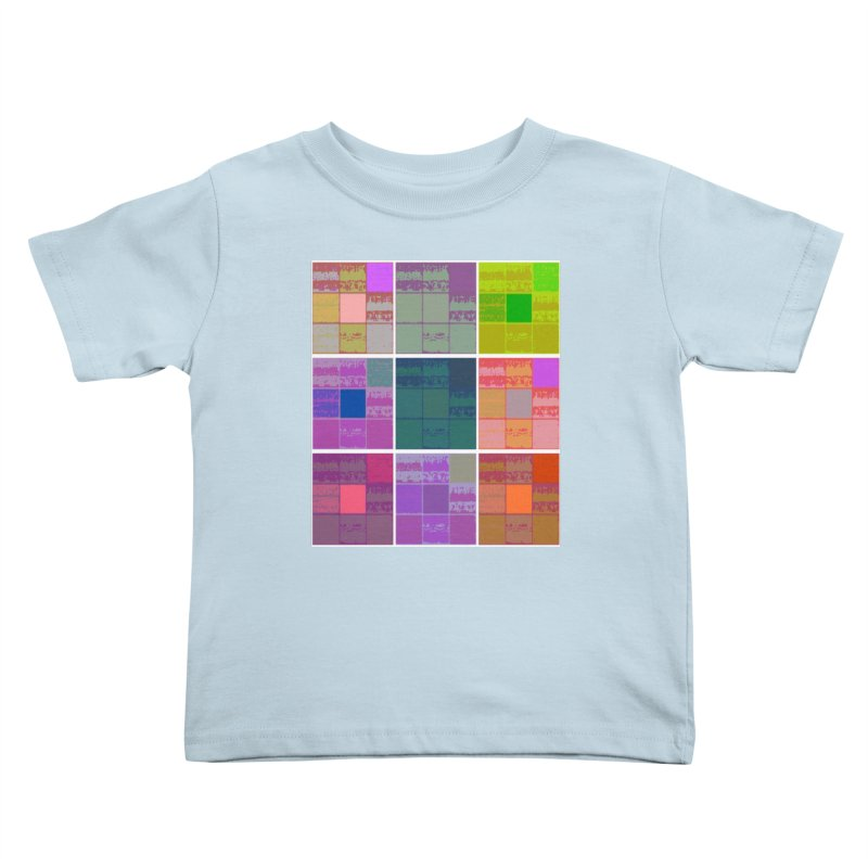 3 Cubed Kids Toddler T-Shirt by Soapboxy Boutique