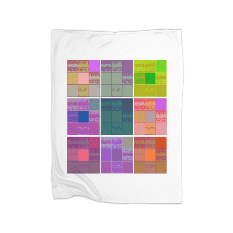 3 Cubed in Fleece Blanket Blanket by Soapboxy Boutique
