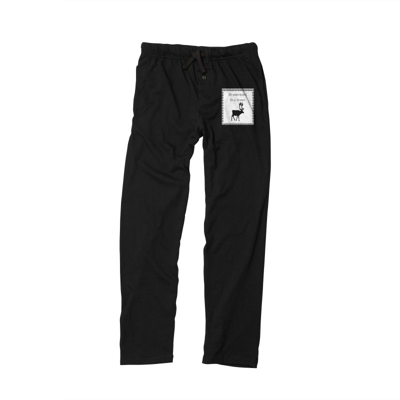 Be a Donner in Women's Lounge Pants Black by Soapboxy Boutique