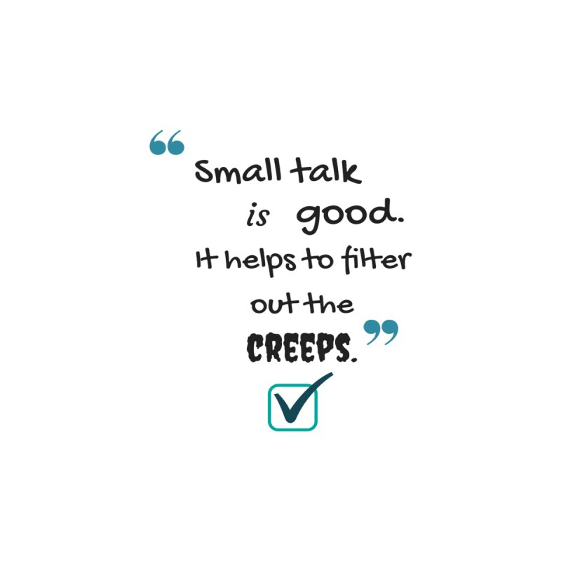 small talk by Soapboxy Boutique