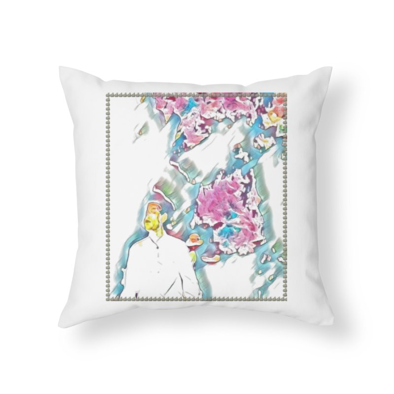 Scrapped from Memory Home Throw Pillow by Soapboxy Boutique