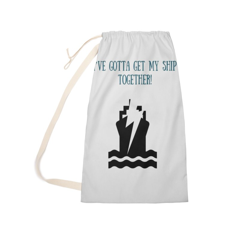 Ship together Accessories Laundry Bag Bag by Soapboxy Boutique