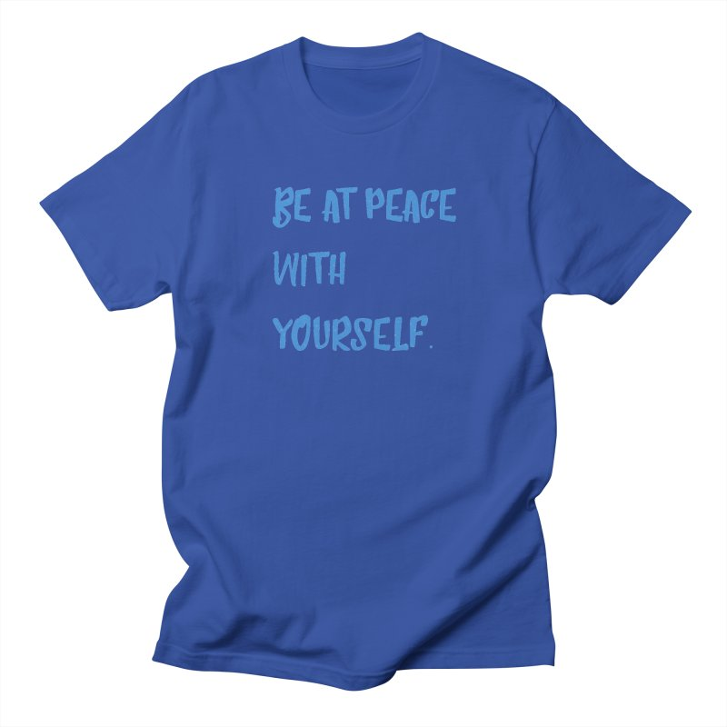 Be at peace Men's T-Shirt by Soapboxy Boutique