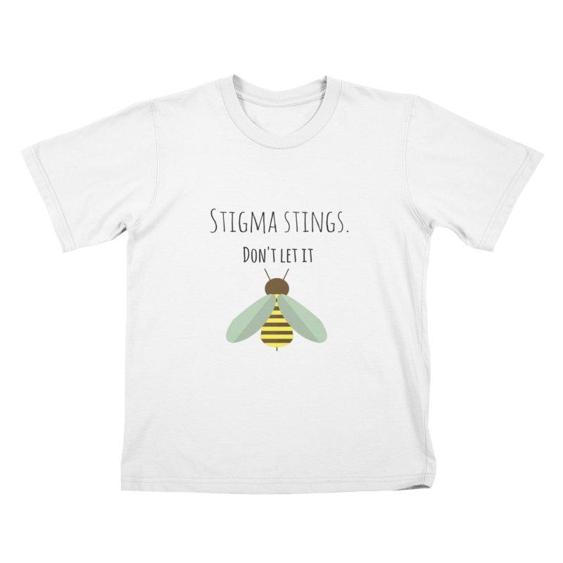 Stigma stings Kids T-Shirt by Soapboxy Boutique
