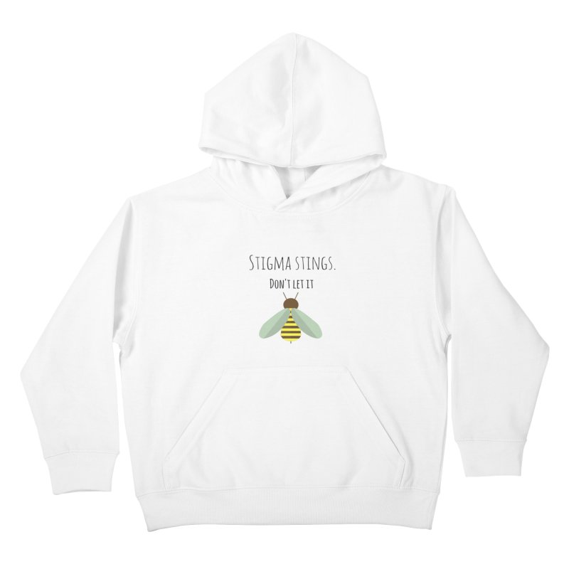 Stigma stings Kids Pullover Hoody by Soapboxy Boutique