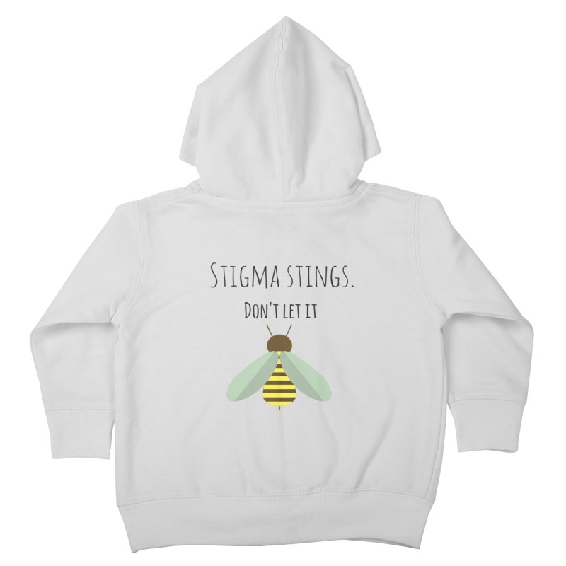 Stigma stings Kids Toddler Zip-Up Hoody by Soapboxy Boutique
