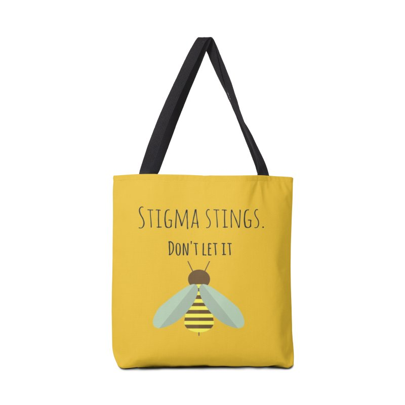 Stigma stings Accessories Bag by Soapboxy Boutique