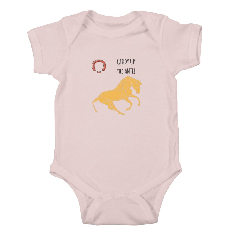 Giddy up Kids Baby Bodysuit by Soapboxy Boutique