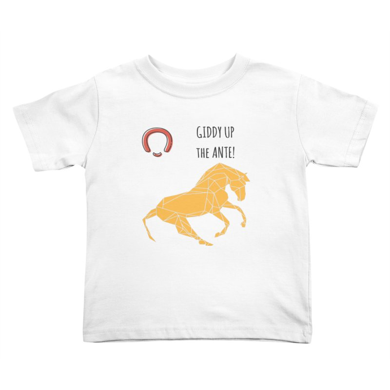 Giddy up Kids Toddler T-Shirt by Soapboxy Boutique