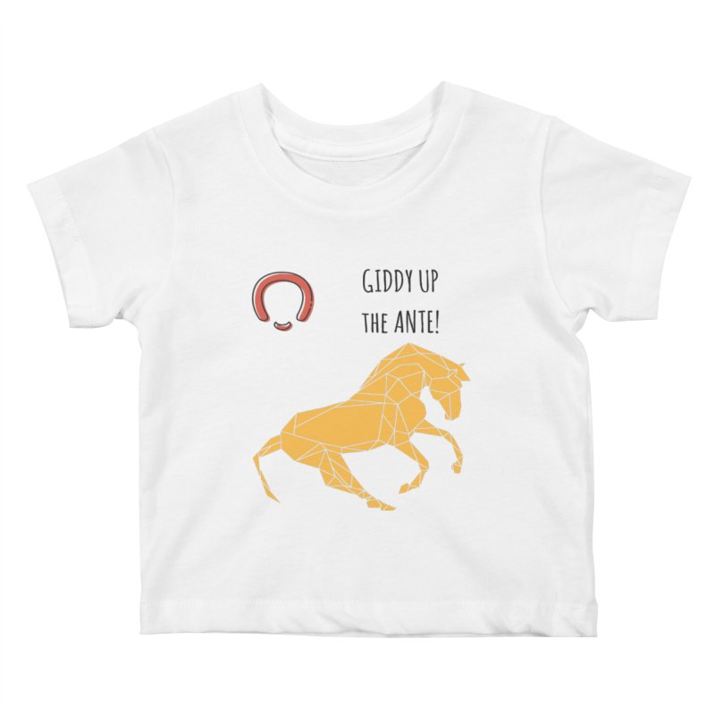Giddy up Kids Baby T-Shirt by Soapboxy Boutique