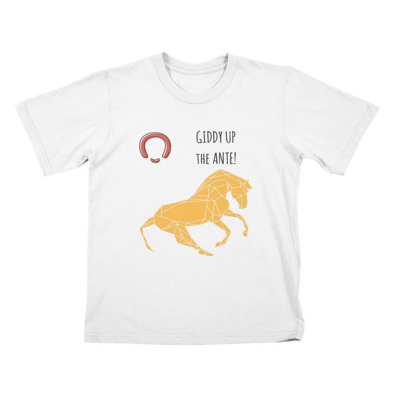 Giddy up Kids T-Shirt by Soapboxy Boutique