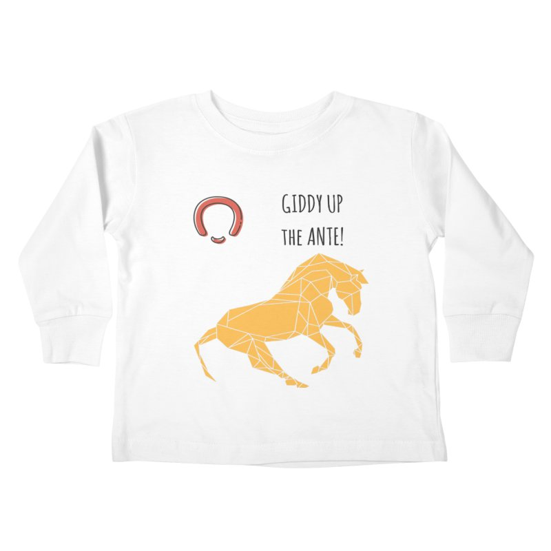 Giddy up Kids Toddler Longsleeve T-Shirt by Soapboxy Boutique