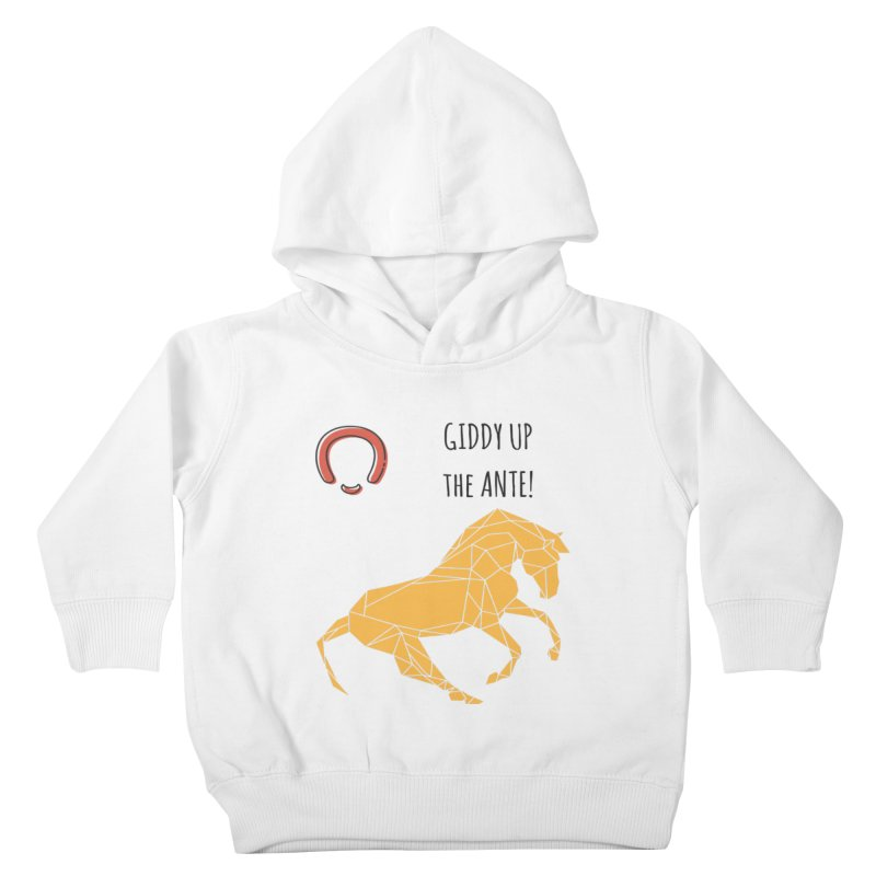 Giddy up Kids Toddler Pullover Hoody by Soapboxy Boutique