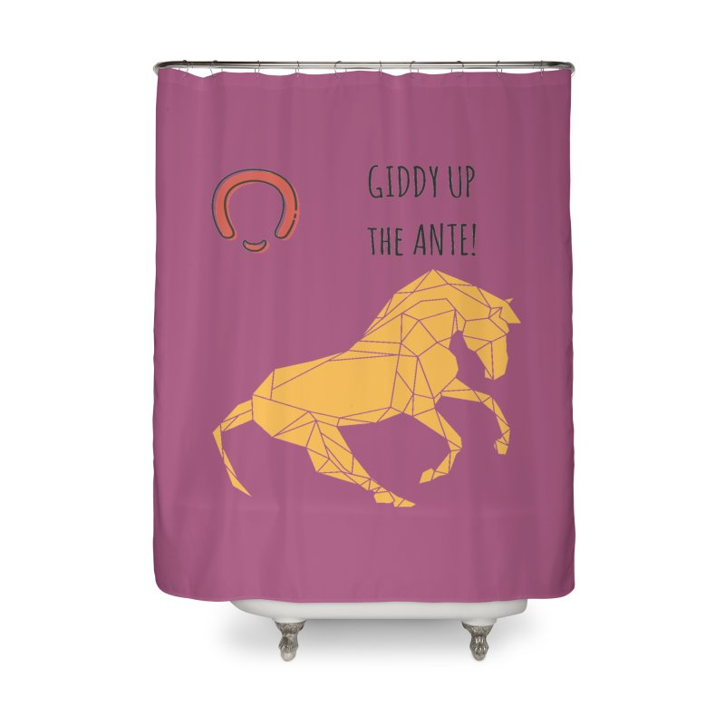 Giddy up Home Shower Curtain by Soapboxy Boutique