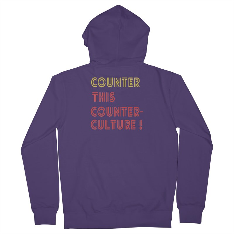 Counter this counterculture Women's Zip-Up Hoody by Soapboxy Boutique
