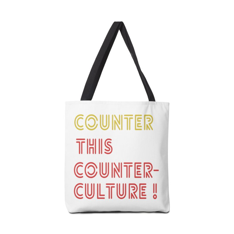 Counter this counterculture Accessories Tote Bag Bag by Soapboxy Boutique