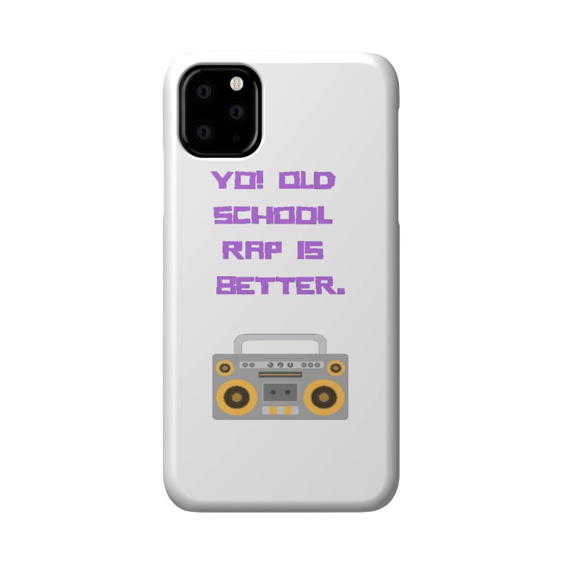 Yo! Old school rap Accessories Phone Case by Soapboxy Boutique