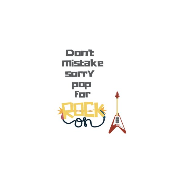 image for Don't mistake...