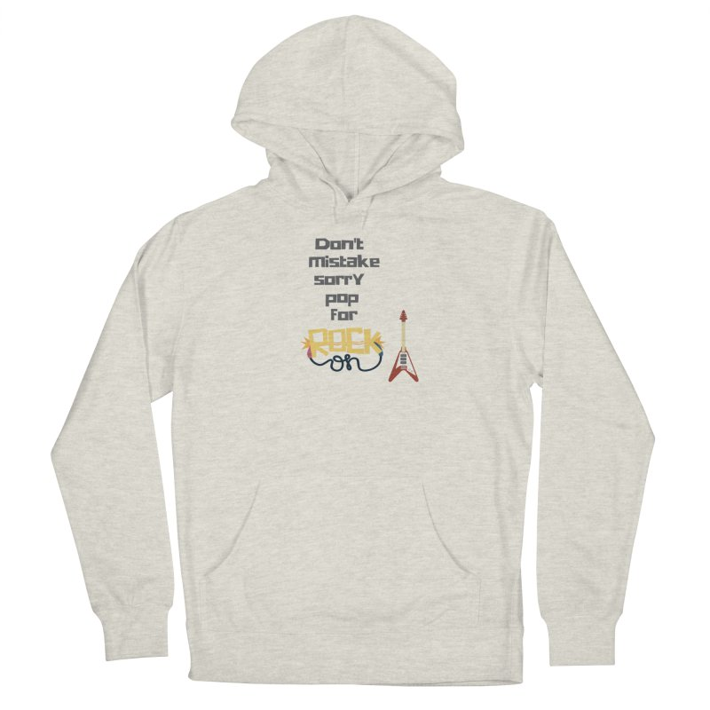 Don't mistake... Men's Pullover Hoody by Soapboxy Boutique