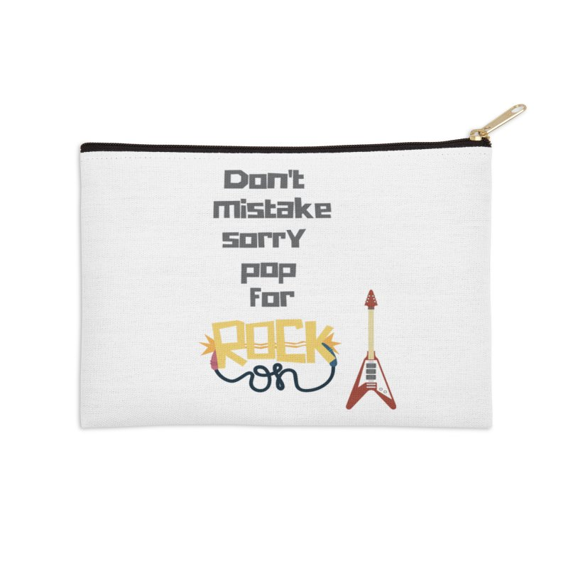 Don't mistake... Accessories Zip Pouch by Soapboxy Boutique