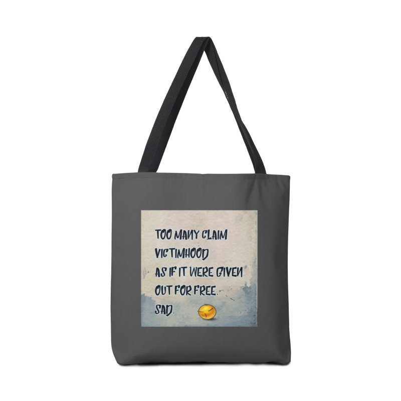 Victimhood Accessories Bag by Soapboxy Boutique