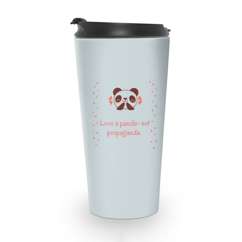 Love a panda Accessories Travel Mug by Soapboxy Boutique