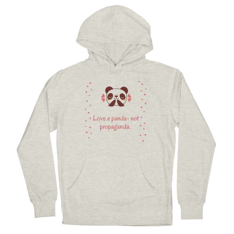 Love a panda Women's Pullover Hoody by Soapboxy Boutique