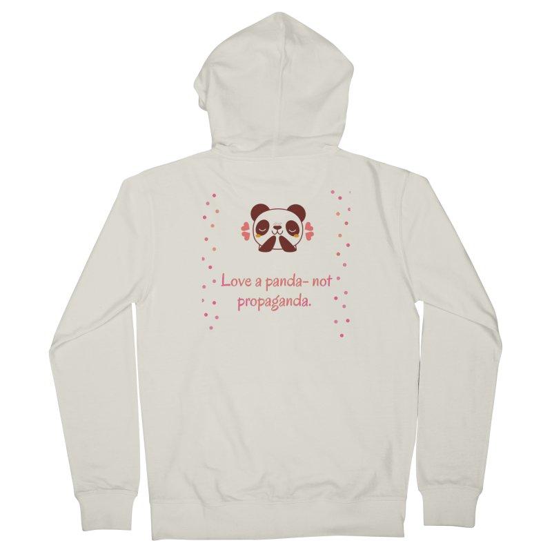 Love a panda Women's Zip-Up Hoody by Soapboxy Boutique