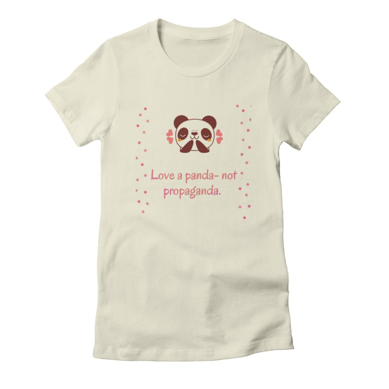 Love a panda Women's T-Shirt by Soapboxy Boutique