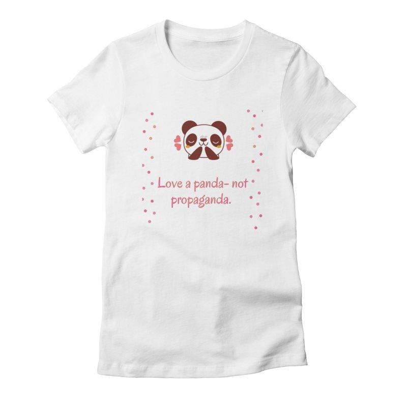 Love a panda Women's T-Shirt by Soapboxy Boutique