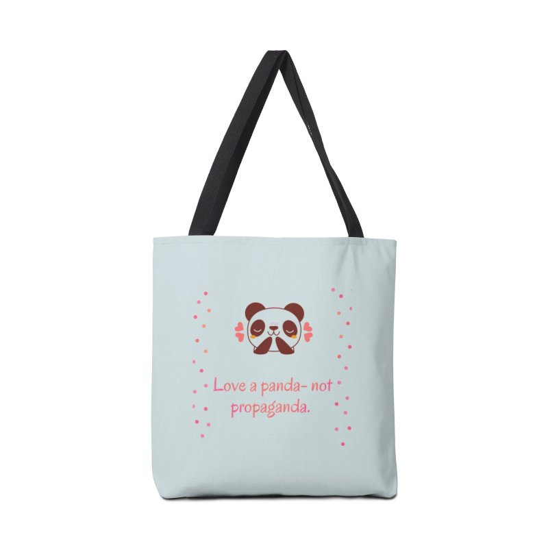 Love a panda Accessories Tote Bag Bag by Soapboxy Boutique