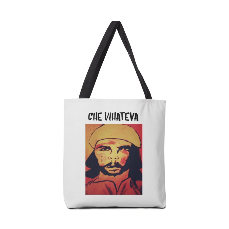 Che whateva Accessories Tote Bag Bag by Soapboxy Boutique
