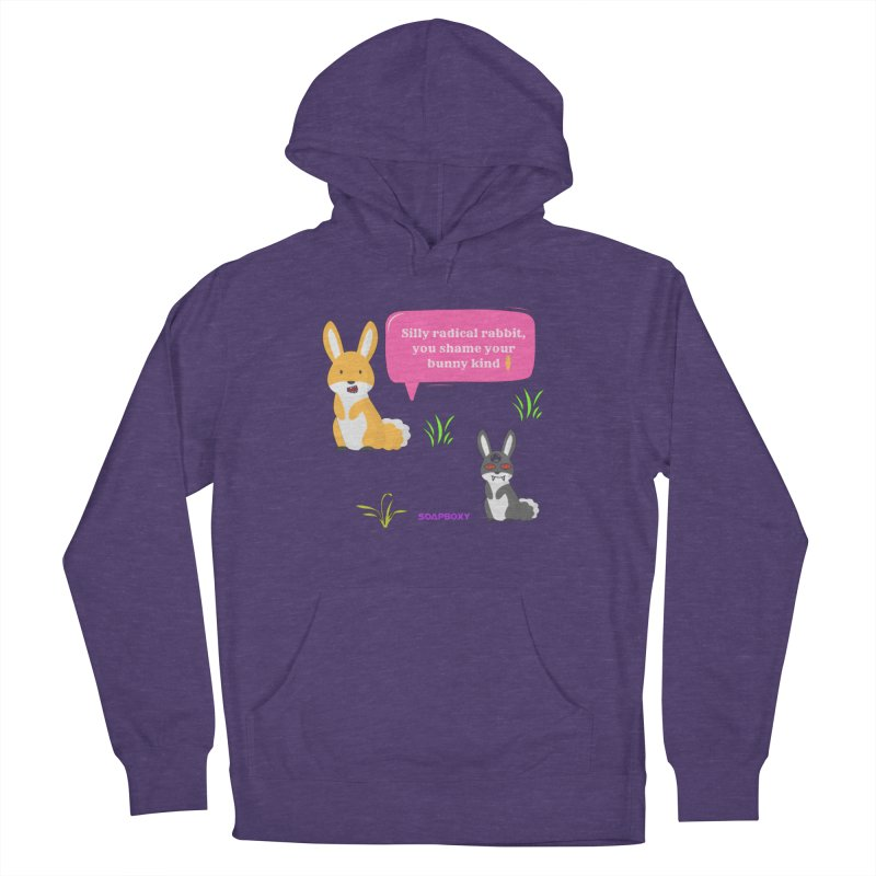 Bunny kind Men's Pullover Hoody by Soapboxy Boutique