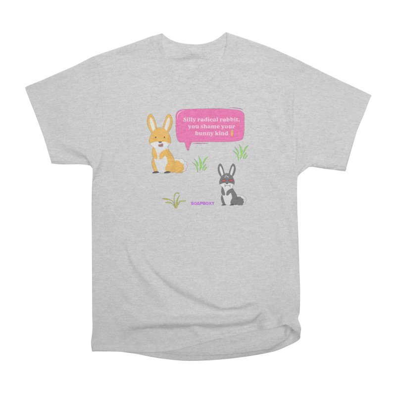 Bunny kind Men's Heavyweight T-Shirt by Soapboxy Boutique