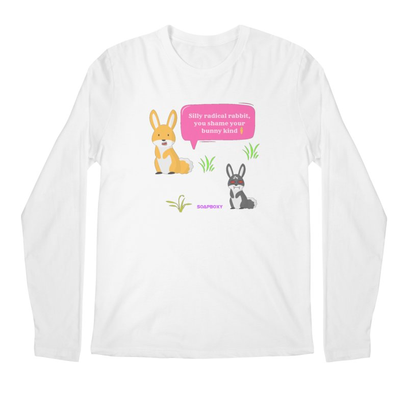 Bunny kind Men's Regular Longsleeve T-Shirt by Soapboxy Boutique