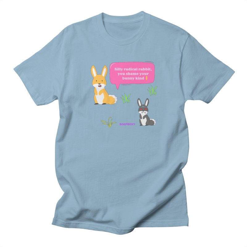 Bunny kind Men's Regular T-Shirt by Soapboxy Boutique