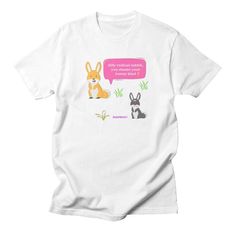 Bunny kind Women's Regular Unisex T-Shirt by Soapboxy Boutique