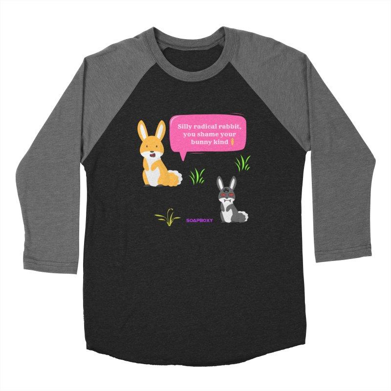 Bunny kind Women's Baseball Triblend Longsleeve T-Shirt by Soapboxy Boutique