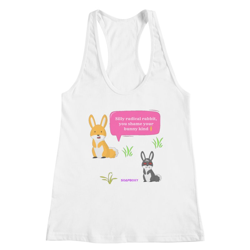 Bunny kind Women's Tank by Soapboxy Boutique
