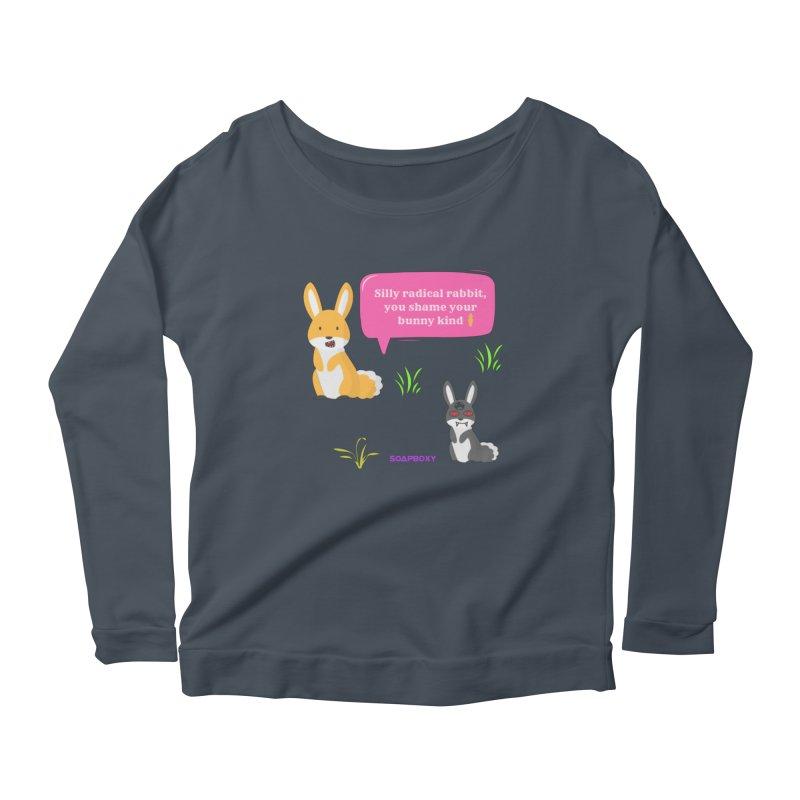 Bunny kind Women's Longsleeve T-Shirt by Soapboxy Boutique