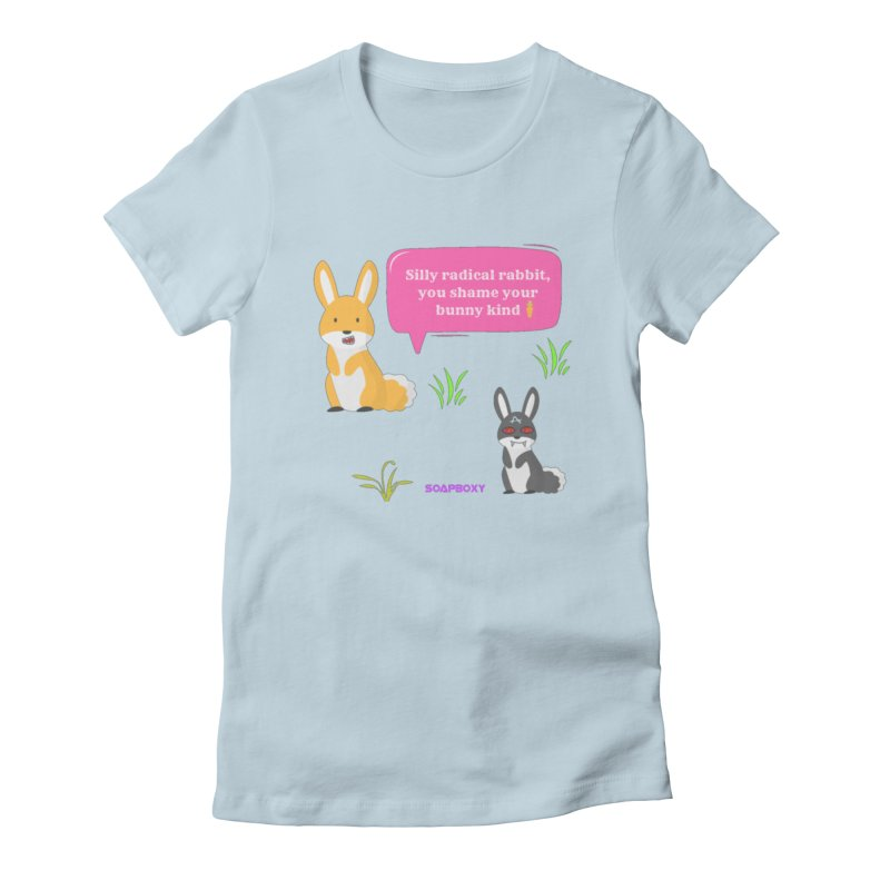 Bunny kind Women's T-Shirt by Soapboxy Boutique