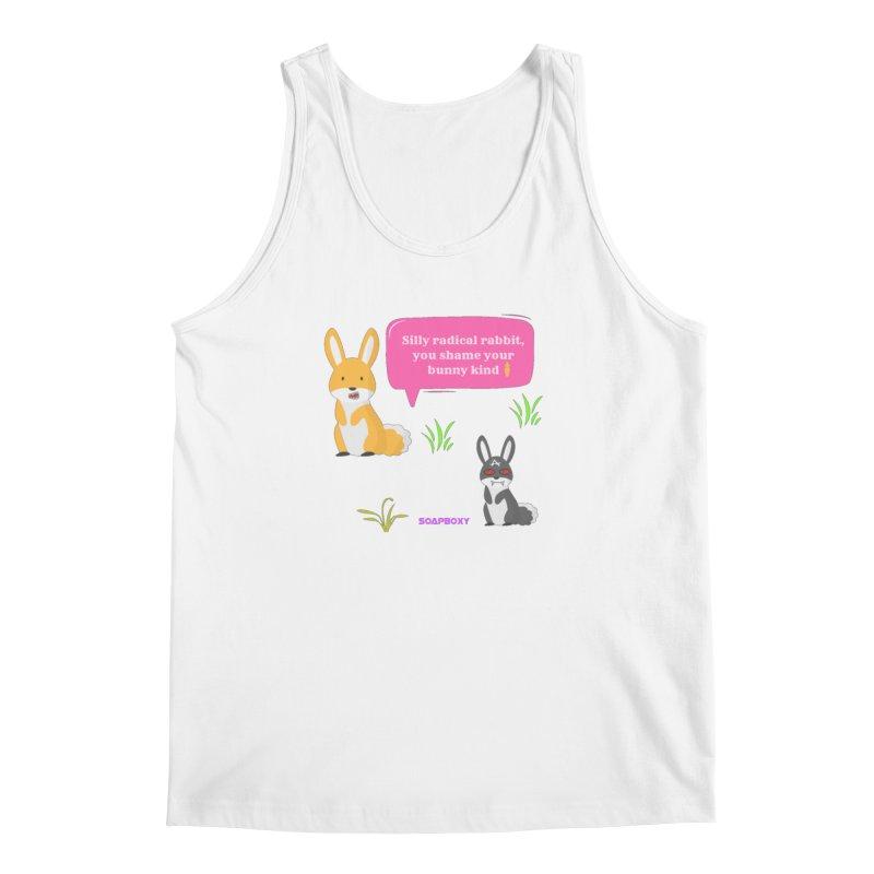 Bunny kind Men's Tank by Soapboxy Boutique