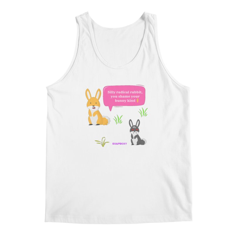 Bunny kind Men's Regular Tank by Soapboxy Boutique