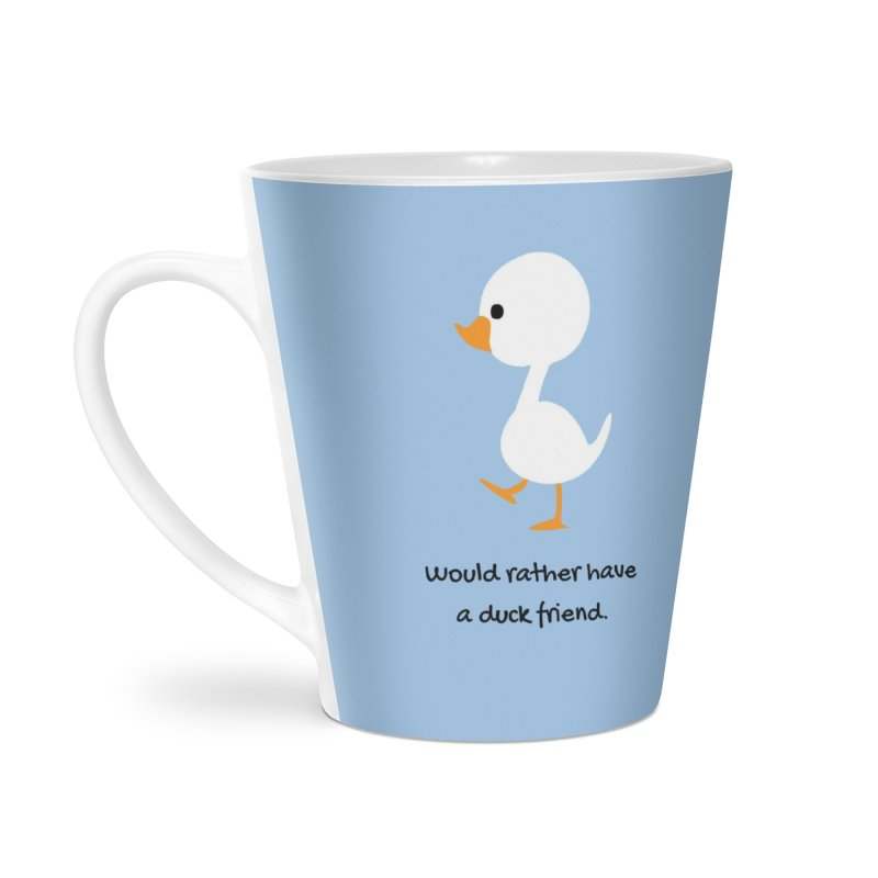 Duck friend Accessories Latte Mug by Soapboxy Boutique