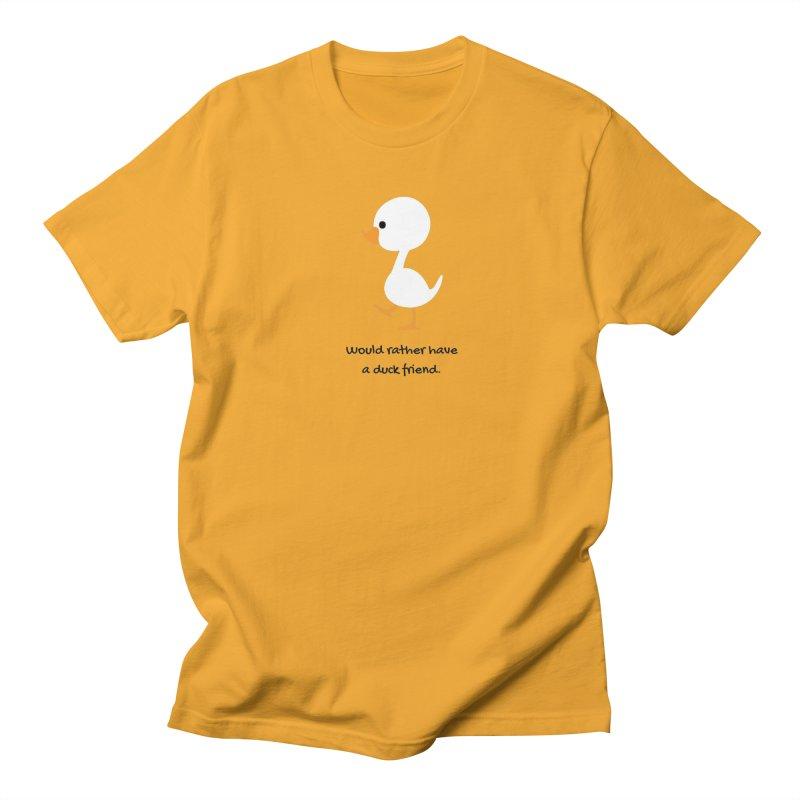 Duck friend Men's T-Shirt by Soapboxy Boutique